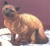 Burmese Katze,10x8cm