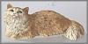 Angora Katze braun,11cm