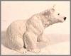 Bär weiß,11x10cm