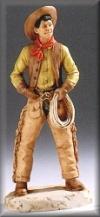 Cowboy m.Lasso,16,5cm