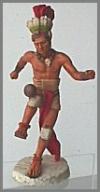 Ball spielender Maya, 16,5 cm