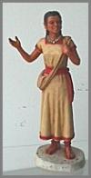 Atzteken Indianerin, 16,5 cm