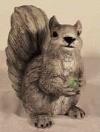 Eichhörnchen, grau,26x23cm