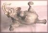 Elefant, liegend,26x14cm