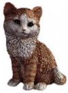 Katze, braun,21cm