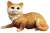 Katze, liegend,M.28cm