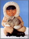 Eskimo m.Hasen,27cm