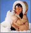 Eskimo m.Robbe,28cm