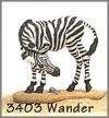 Wande(Zebra) m.Stein