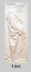 St.Antonius, weiß 34,5x91 cm